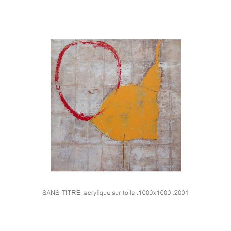 SANS TITRE.acrylique sur toile.1000x1000.2001