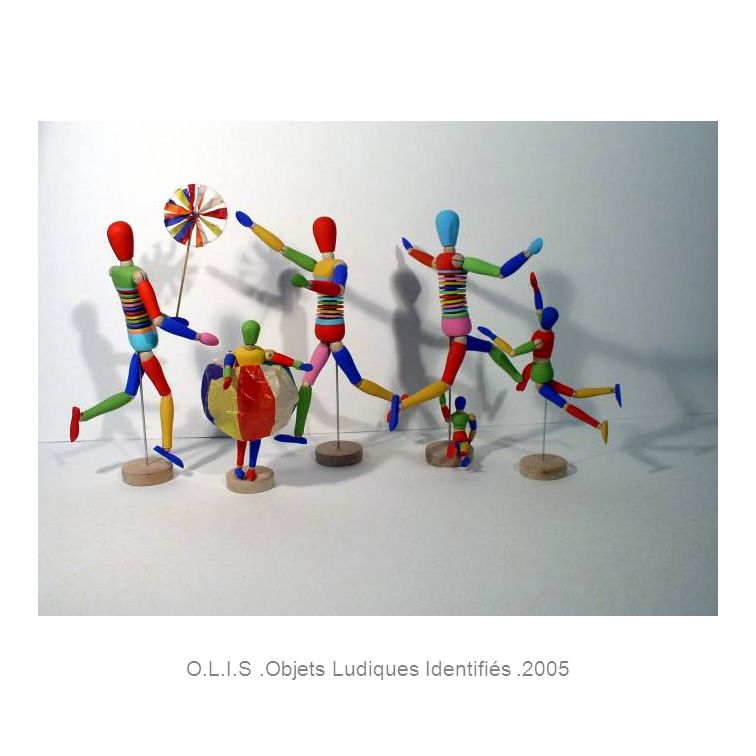 O.L.I.S.Objets Ludiques Identifiés.2005