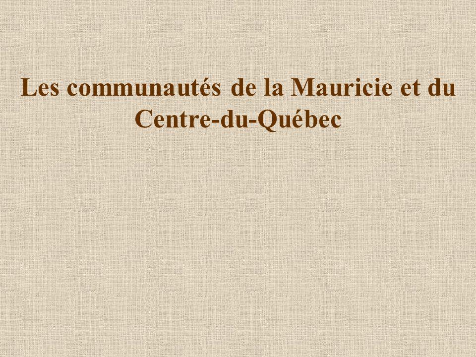 Les communautés de la Mauricie et du Centre-du-Québec