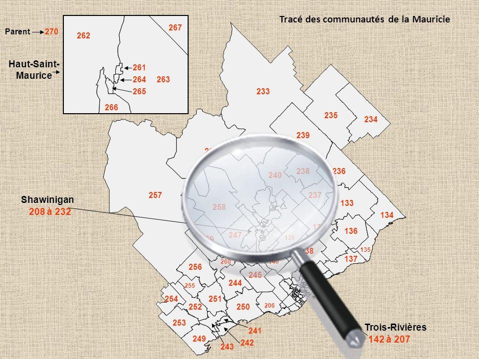 Drummondville Victoriaville Trois-Rivières La Tuque La situation sociosanitaire des communautés de la Mauricie et du Centre-du-Québec (Décès 2001-2006; DPJ 2004-2008, HDAA 2006, Stat Can 2006)