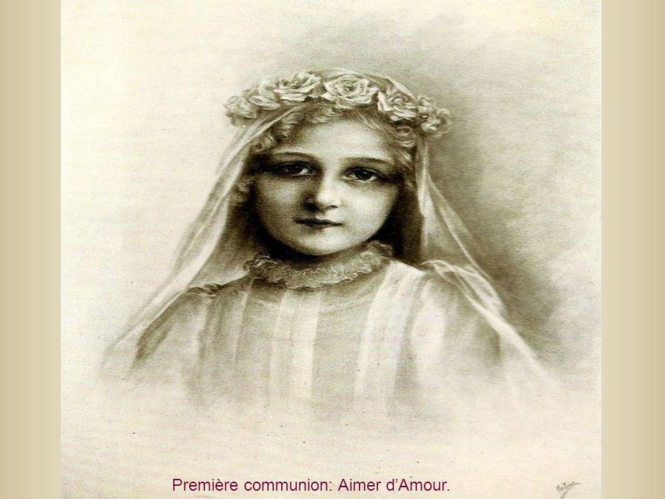 Première communion: Aimer dAmour.