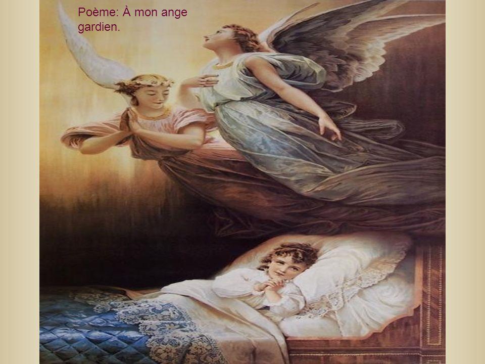 Poème: À mon ange gardien.