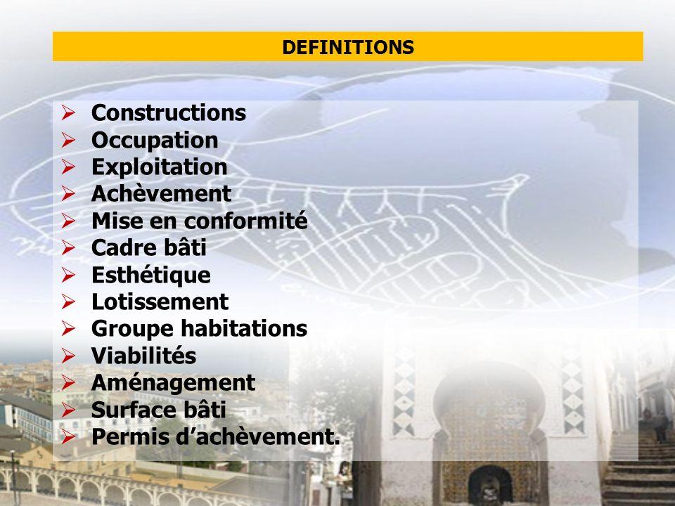 construction par tranche certificat de conformité par tranche accès au prêt.