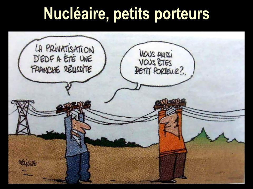 Nucléaire, petits porteurs