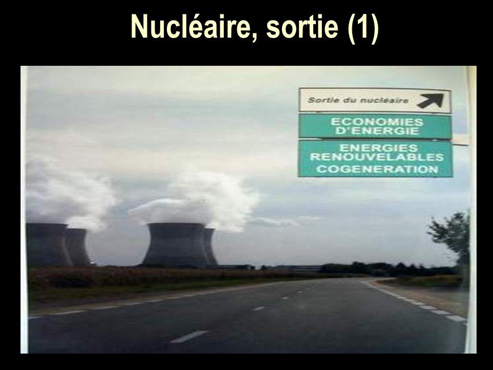 Nucléaire, sortie (1)