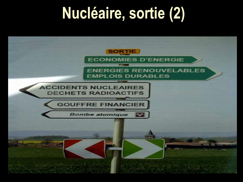 Nucléaire, sortie (2)