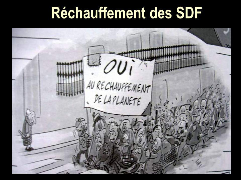 Réchauffement des SDF
