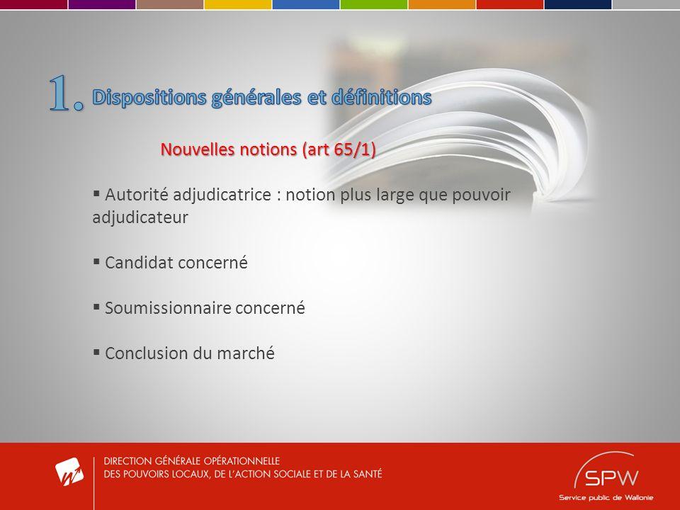 Moyens de communication (Art.65/8, §1 er al.