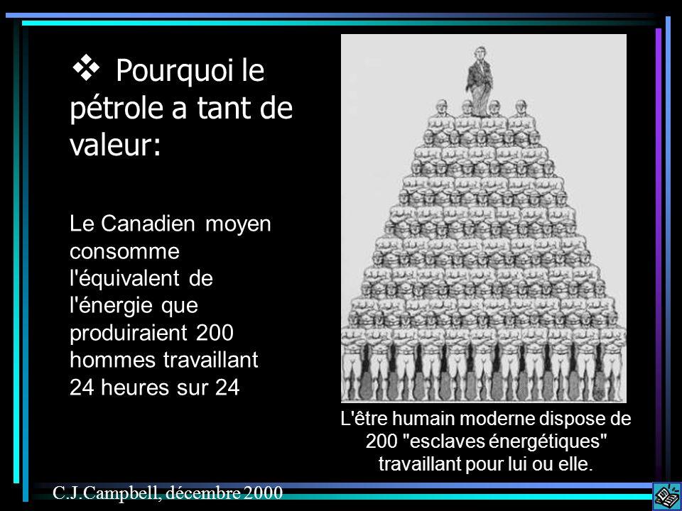 Click here Le Canadien moyen consomme l équivalent de l énergie que produiraient 200 hommes travaillant 24 heures sur 24 L être humain moderne dispose de 200 esclaves énergétiques travaillant pour lui ou elle.