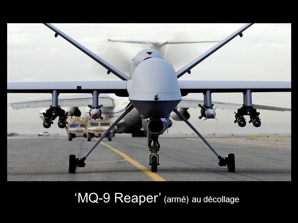 MQ-9 Reaper (armé) au décollage