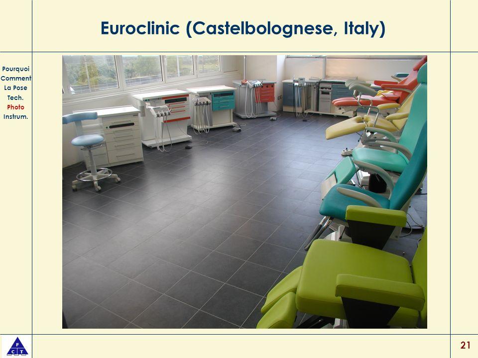 21 Euroclinic (Castelbolognese, Italy) Pourquoi Comment La Pose Tech. Photo Instrum.