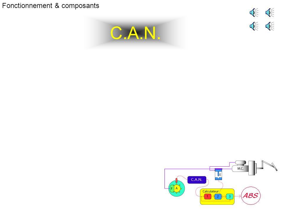 C.A.N. Fonctionnement & composants