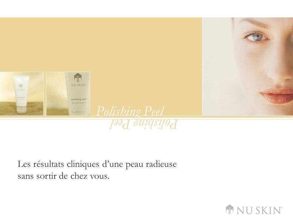 Polishing Peel Les résultats cliniques dune peau radieuse sans sortir de chez vous.
