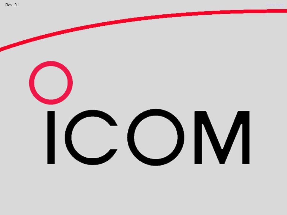Rev. 01Icom logo