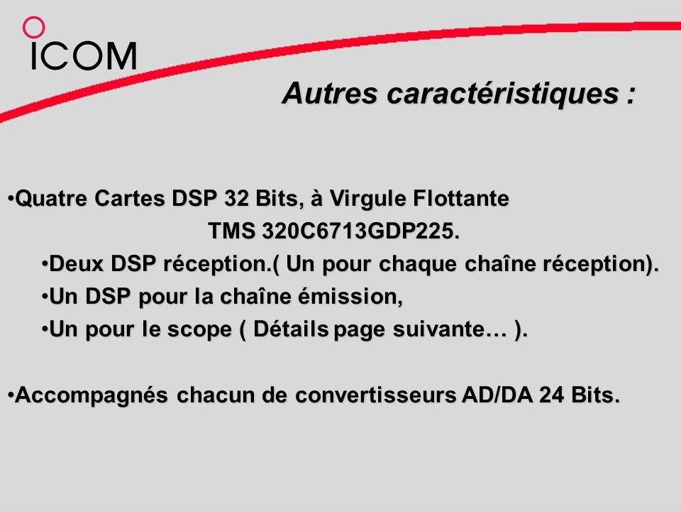 Autres caractéristiques : Quatre Cartes DSP 32 Bits, à Virgule FlottanteQuatre Cartes DSP 32 Bits, à Virgule Flottante TMS 320C6713GDP225.