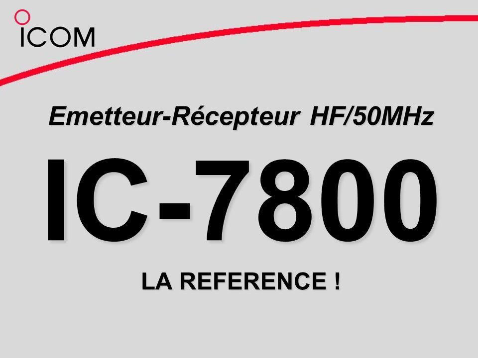 Emetteur-Récepteur HF/50MHz IC-7800 LA REFERENCE !
