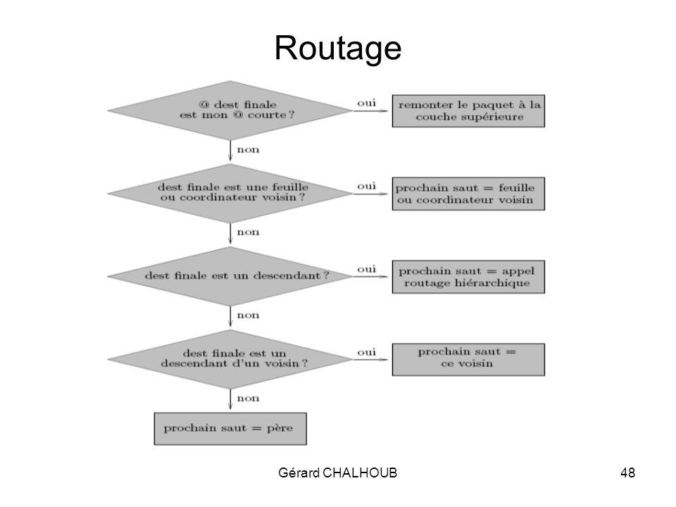 Gérard CHALHOUB48 Routage