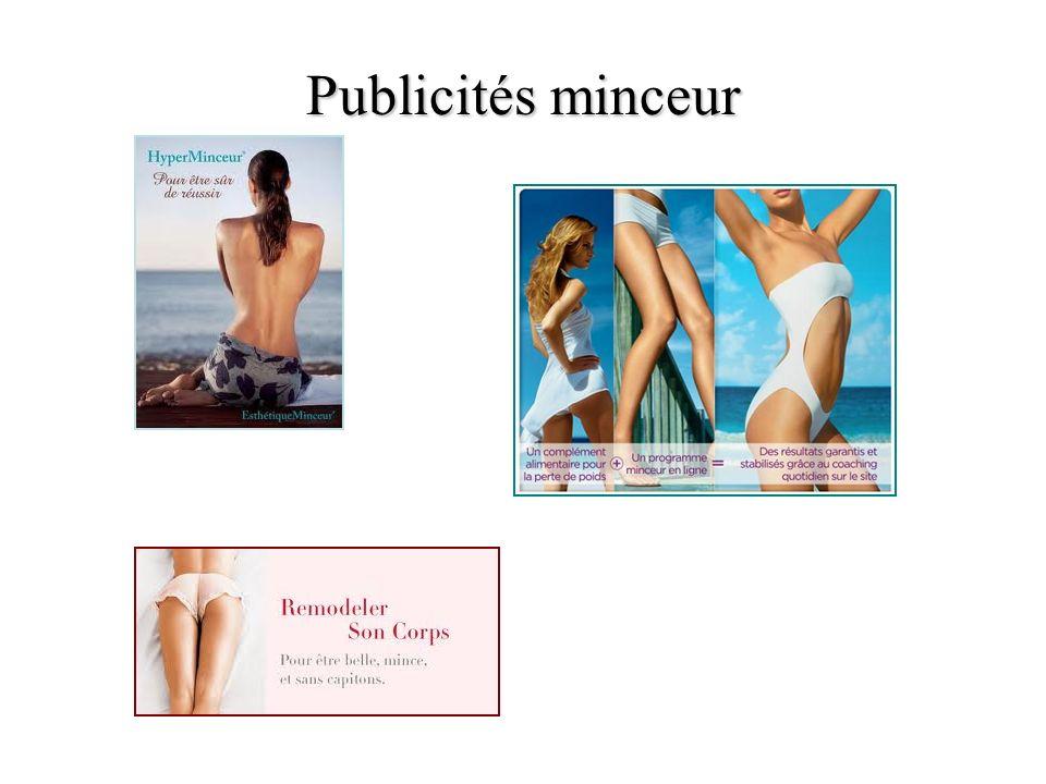 Publicités minceur