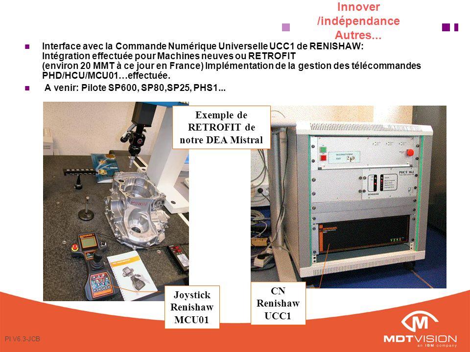 PI V6.3-JCB Innover /indépendance Autres...