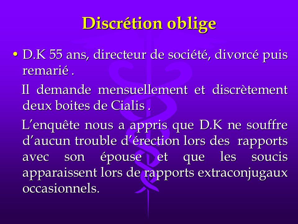 D.K 55 ans, directeur de société, divorcé puis remarié.D.K 55 ans, directeur de société, divorcé puis remarié.