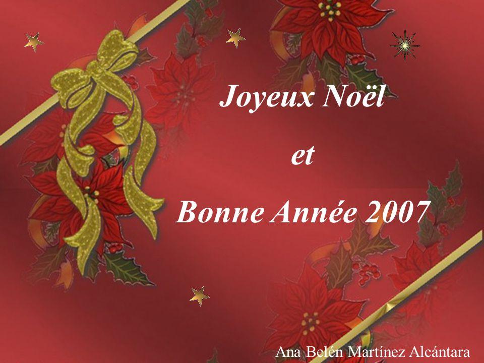 Ana Belén Depuis ce jour-là, quand Noël arrive, il met son manteau et son pantalon en coton rouge, il prend son grand sac rouge, quil remplit des plus beaux jouets et il les dépose devant la cheminée de toutes les maisons.