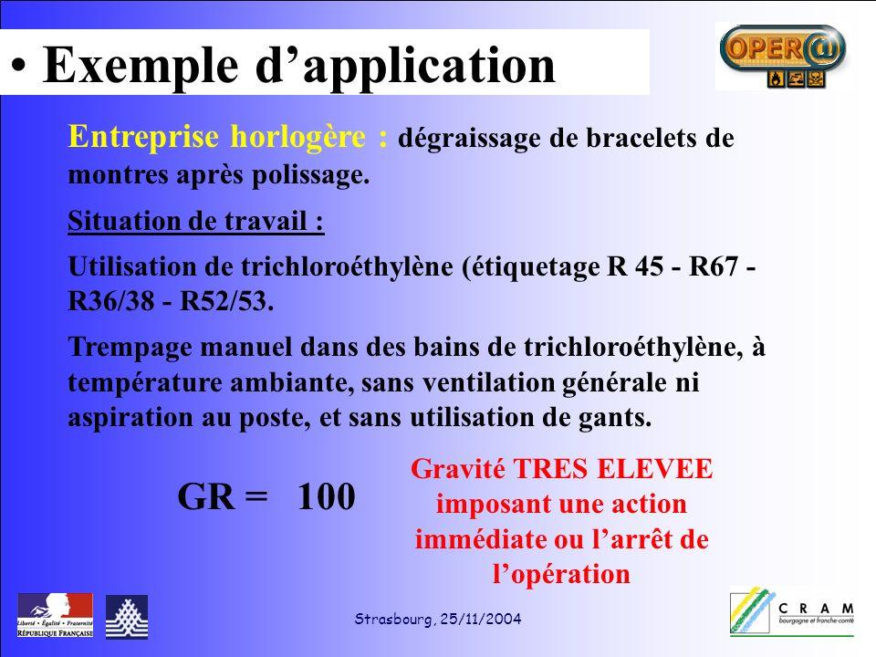 Strasbourg, 25/11/2004 Entreprise horlogère : dégraissage de bracelets de montres après polissage.