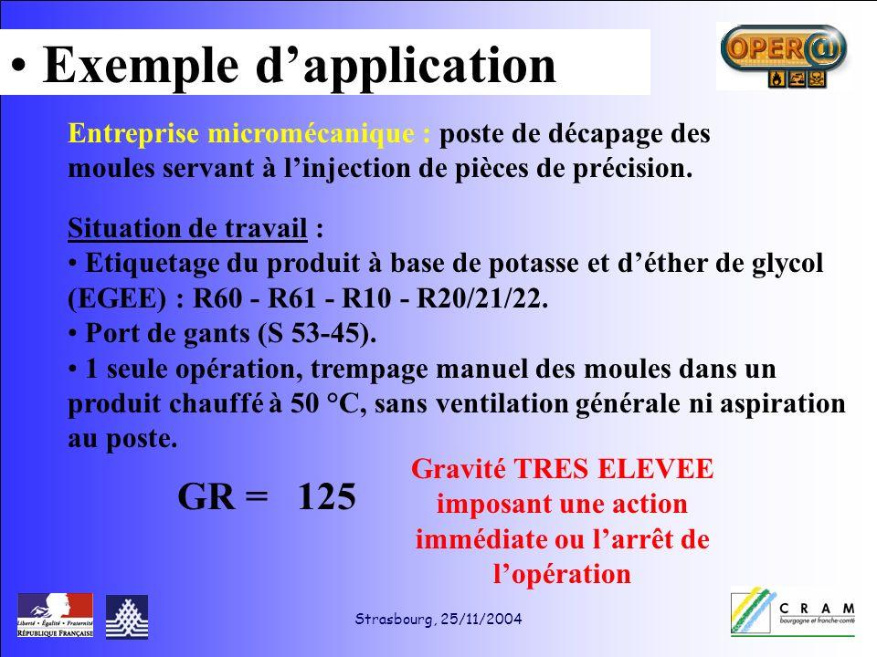 Strasbourg, 25/11/2004 Entreprise micromécanique : poste de décapage des moules servant à linjection de pièces de précision.