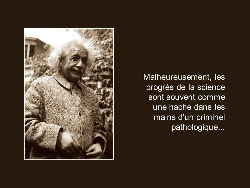 Le plus important pour un homme de science nest pas ses diplômes, ni le nombre de ses années détude, ni même son expérience, mais tout simplement son intuition.