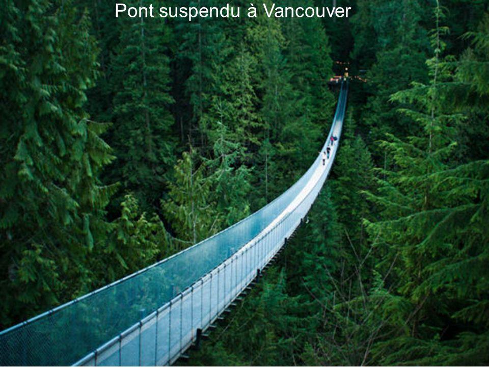 Pont suspendu à Vancouver