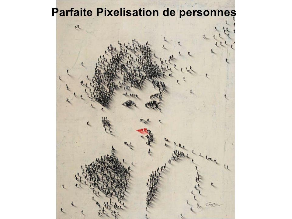 Parfaite Pixelisation de personnes