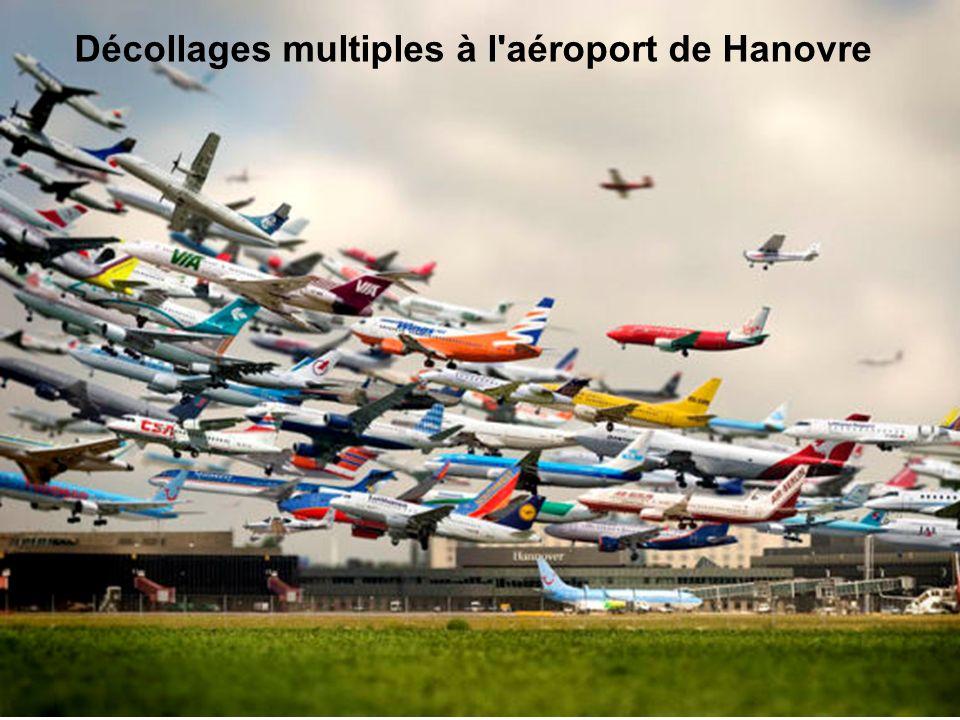 Décollages multiples à l aéroport de Hanovre