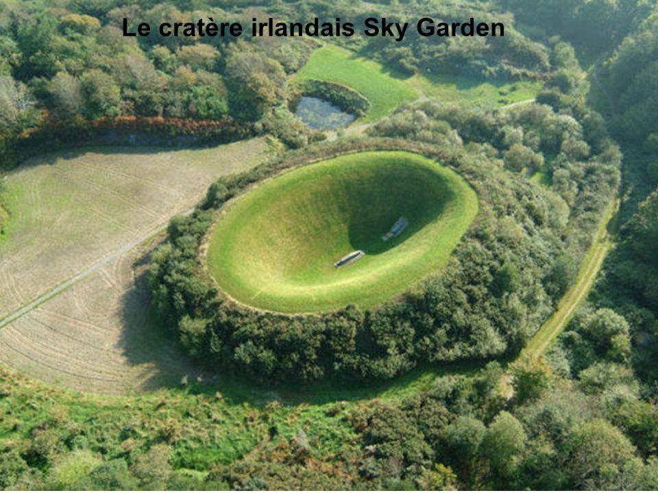 Le cratère irlandais Sky Garden
