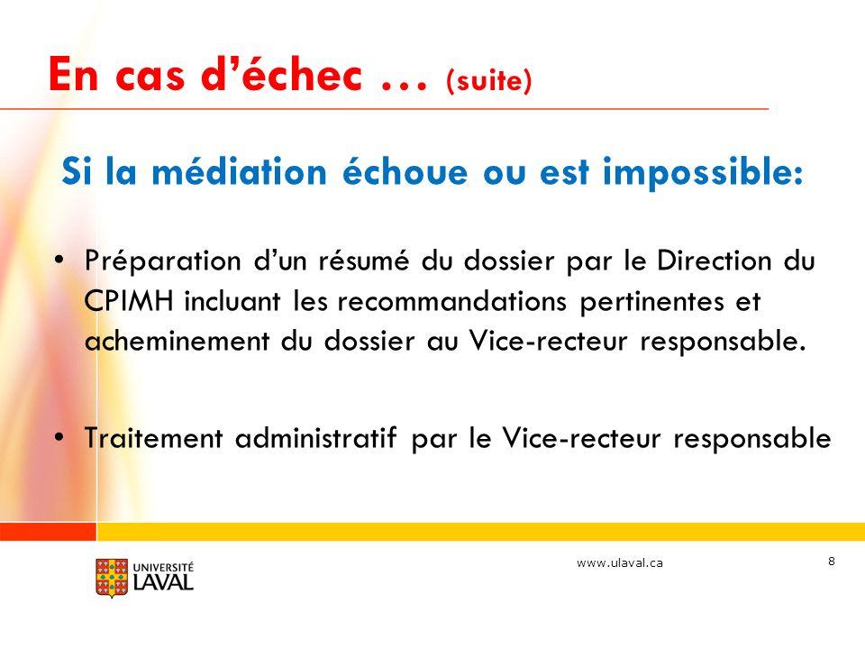 www.ulaval.ca Définition du harcèlement … un rappel 9