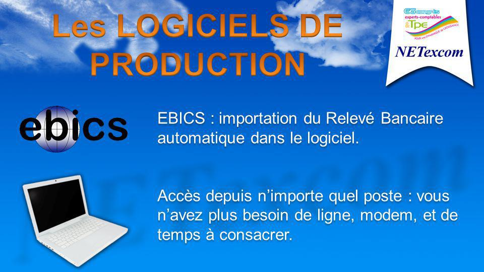 EBICS : importation du Relevé Bancaire automatique dans le logiciel.
