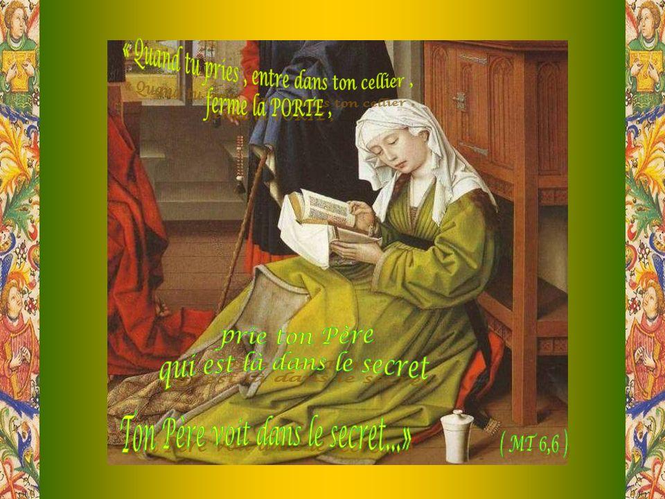 La harpe médiévale accompagne la liturgie des heures, célébrée en latin et en chant grégorien par les moniales bénédictines de lAbbaye Sainte-Marie des Deux-Montagnes, de la Congrégation de Solesmes.