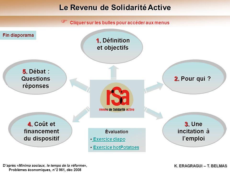 Le Revenu de Solidarité Active 5. Débat : 5. Débat : Questions réponses 5.