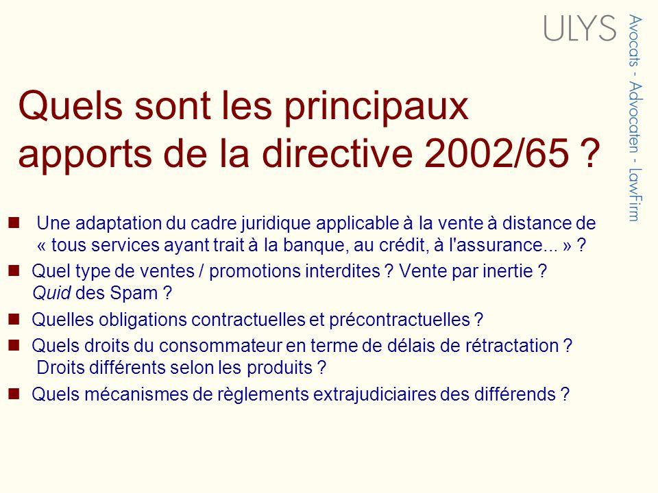 Droit de réflexion / rétractation Directive mal rédigée : Communication des informations prélables et des conditions contractuelles (art.