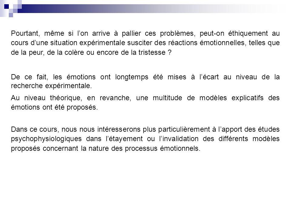 Lexpression comportementale ou acte Exemples : la défense ou lattaque en réponse à une menace.