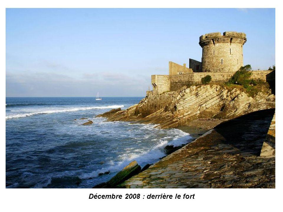 Décembre 2008 : entrée du port de Ciboure