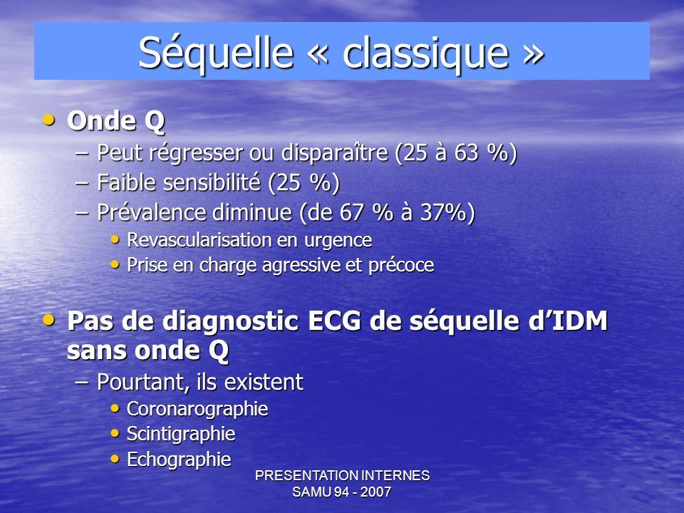 PRESENTATION INTERNES SAMU 94 - 2007 Exemple n°2