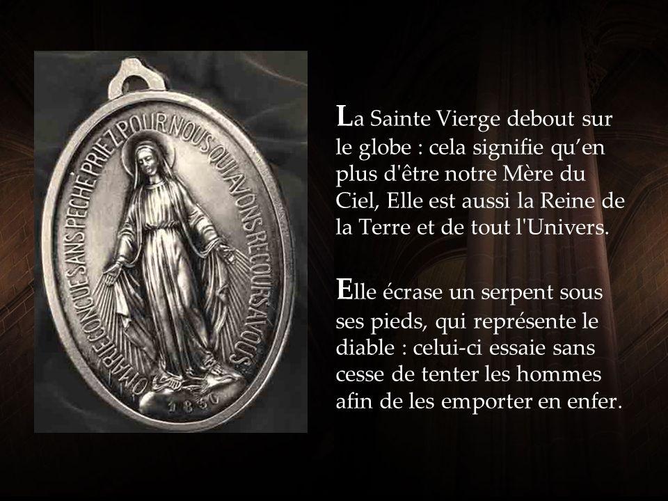 La face de la Médaille Miraculeuse