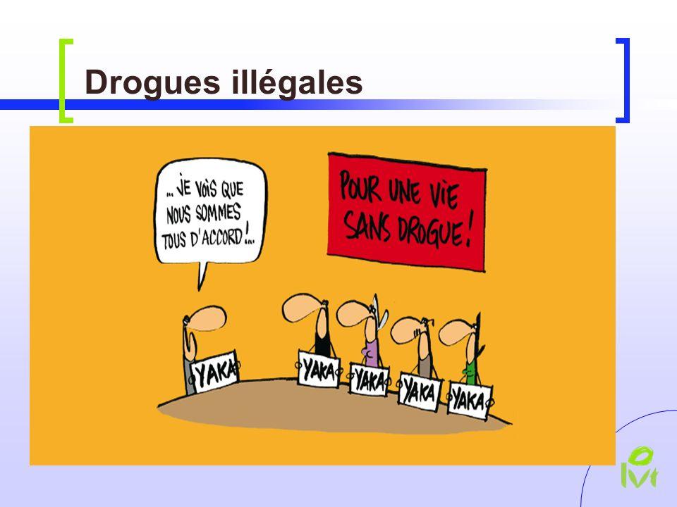 Drogues illégales