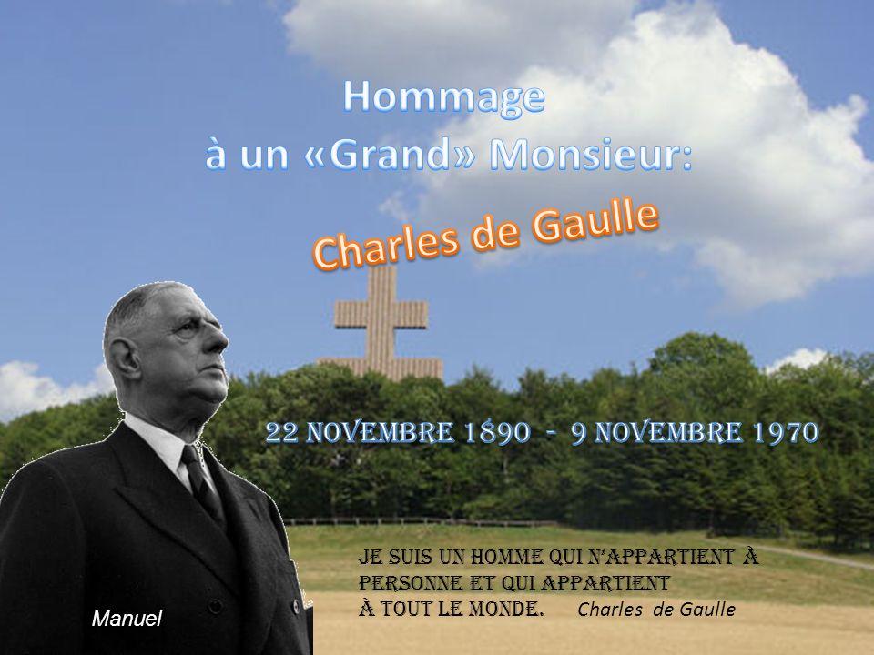 Le 2 août 1940 après sa condamnation de Gaulle dit: « Maintenant, la France est à reconquérir.