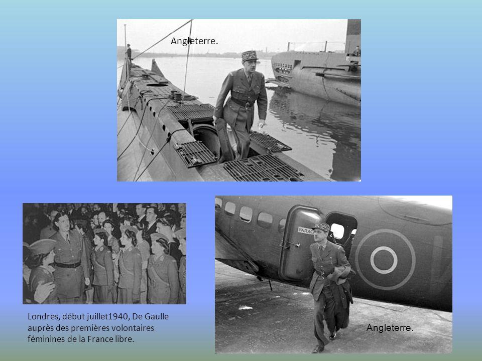1942 Il y a un pacte vingt fois séculaire entre la grandeur de la France et la liberté du monde Charles de Gaulle, Londres, 01 mars 1941