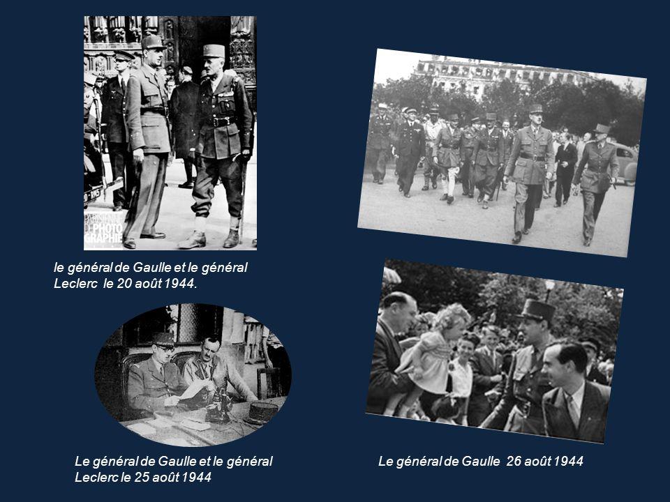 Paris libéré…24 août 1944 Paris, Paris outragé, Paris brisé, Paris martyrisé mais Paris libéré .