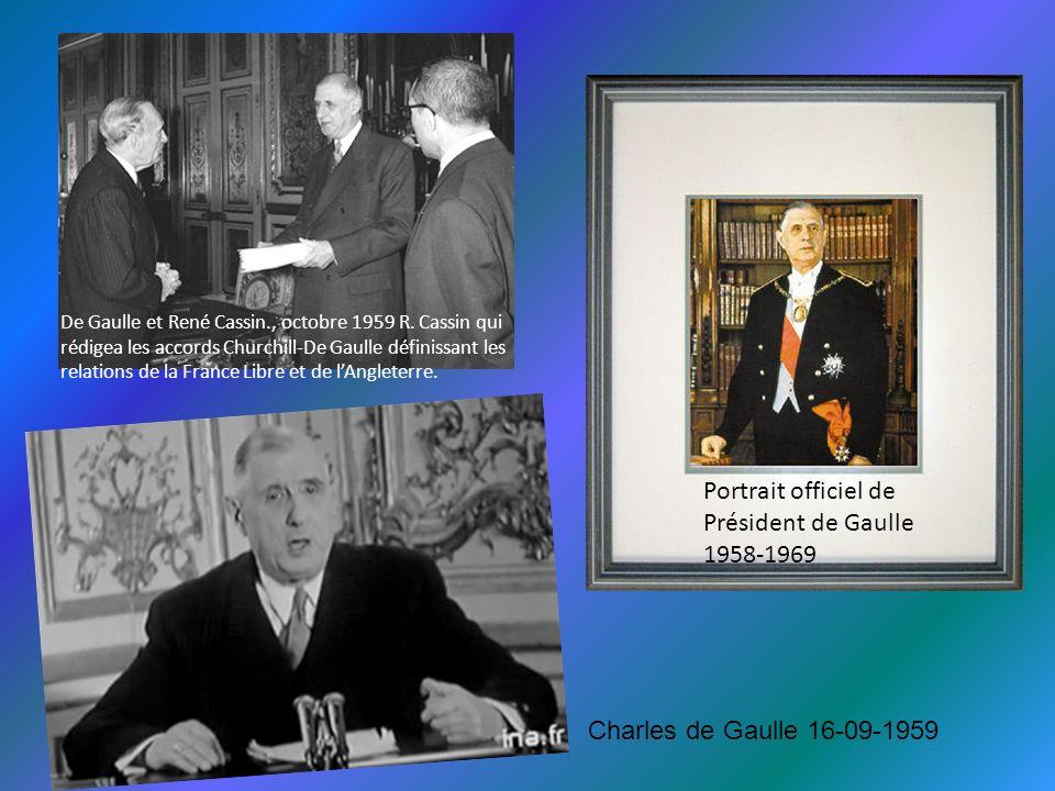 En mars 1962, il met fin à la guerre d Algérie Je vous ai compris ! Alger 5-06-1958 Le Général de Gaulle Oran 1958
