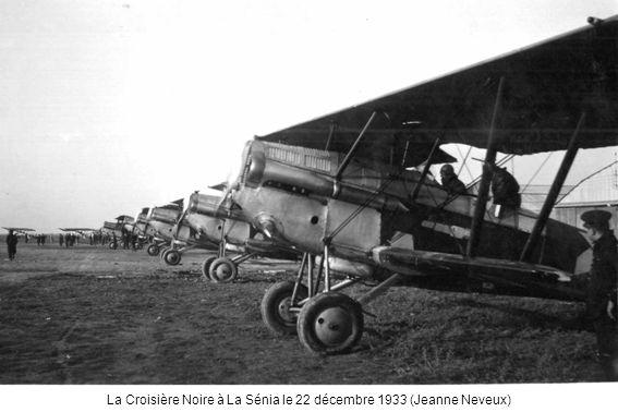 La Croisière Noire à La Sénia le 22 décembre 1933 (Jeanne Neveux)
