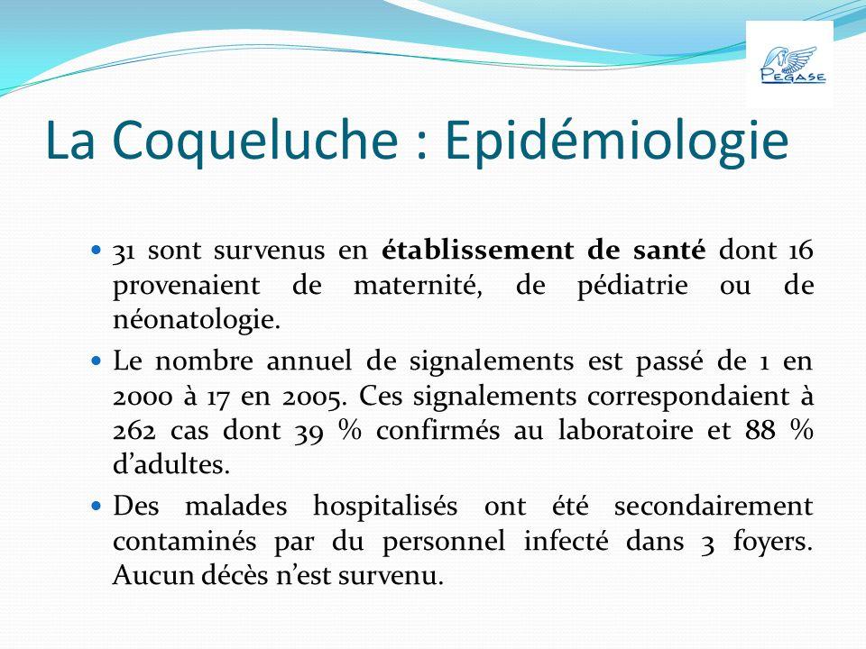 Le diagnostic biologique Sérologie ne peut avoir dintérêt quaprès trois semaines de toux nest interprétable que chez les sujets nayant pas reçu de vaccin contre la coqueluche depuis au moins trois ans.