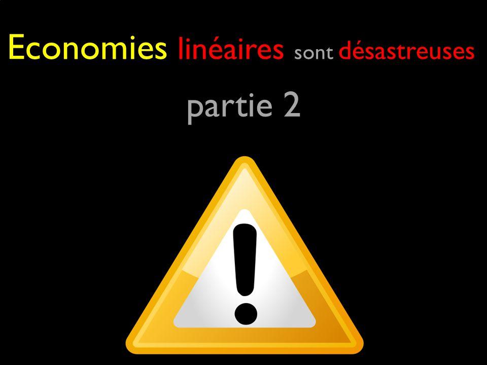 partie 2 Economies linéaires sont désastreuses