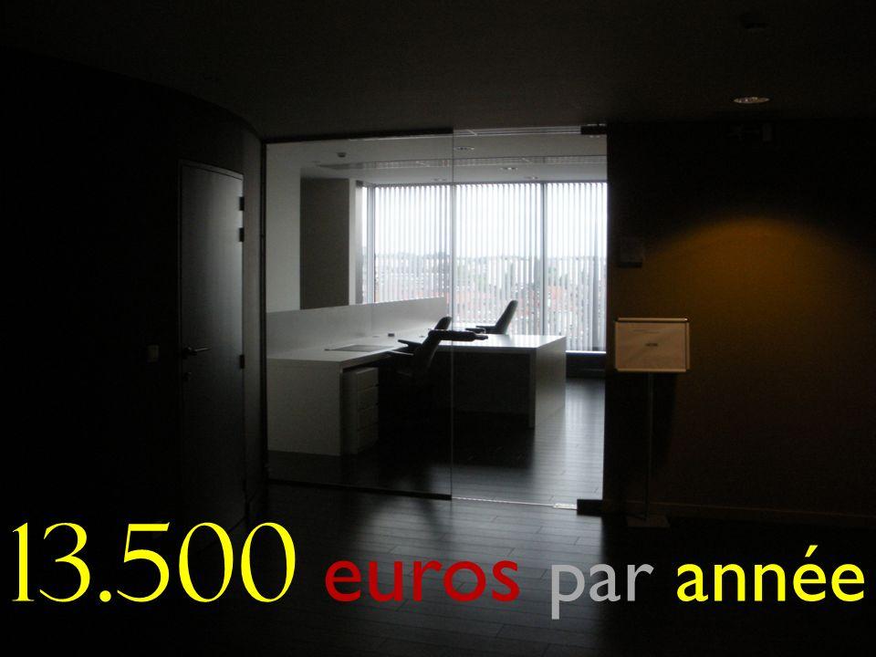 13.500 euros par année